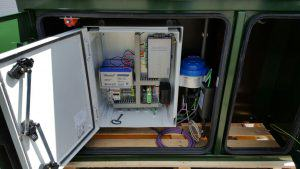 An example of a cabinet for distribution and metering in water networks